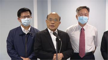 快新聞/美日政要訪台 蘇貞昌:世界最重要國家對台灣的重視及肯定