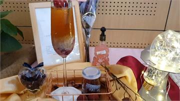 冬山有好茶!火龍果、荔枝創意調出美味飲品