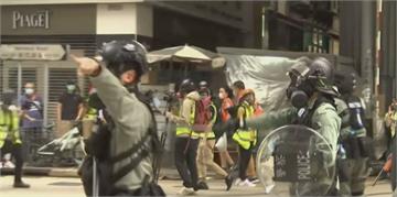 抗議國安法 衝突再現香港街頭