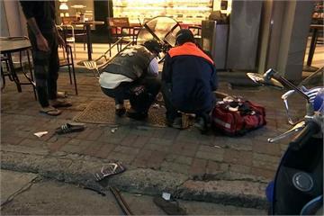 咖啡店驚傳砍人 男子多處刀傷送醫