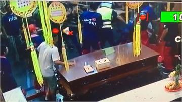 強推銷不成放鞭炮恐嚇店家 警逮暴力集團