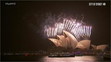 紐澳率先迎接2020!雪梨十萬發焰火璀璨全球