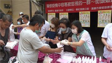 共同為防疫努力!慈善團體發口罩、防疫用品助街友