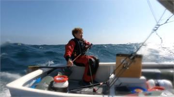 12歲小水手橫渡英吉利海峽 14小時20分創紀錄