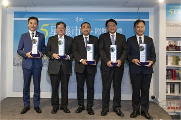 四度獲五星肯定 林智堅籲:不分藍綠都是台灣國家隊