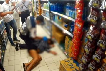 罹患肝病偷跑出醫院 孕婦賣場偷酒喝醉倒