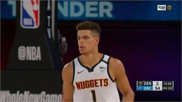 NBA/金塊菜鳥狂砍37分12籃板!金塊延長賽勝雷霆