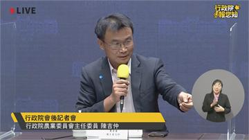 快新聞/疫情危機反成農產外銷轉機 陳吉仲:市場從中國大幅轉移
