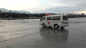 馬籍貨輪1船員發燒咳血 花蓮港下船送醫
