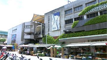 台北漁市是海砂屋  車道下陷樑柱裂