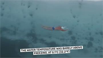 超猛!游過南極一公里冰河隧道 英國男子創世界紀錄