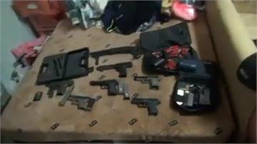 修法後首度肅槍 全國掃出148黑槍逮108人