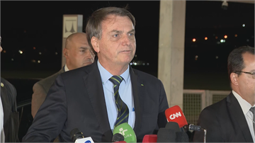 巴西總統傳出發燒 武漢肺炎複檢週二出爐