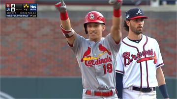 MLB/首局10分創季後賽紀錄 紅雀晉級國聯冠軍賽