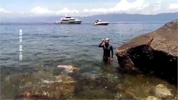 台灣首位!泳將花13小時來回泳渡烏石港-龜山島
