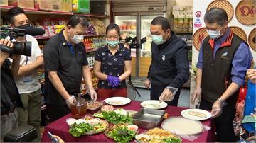 鼓勵新住民創業!侯友宜視察越南複合式商店