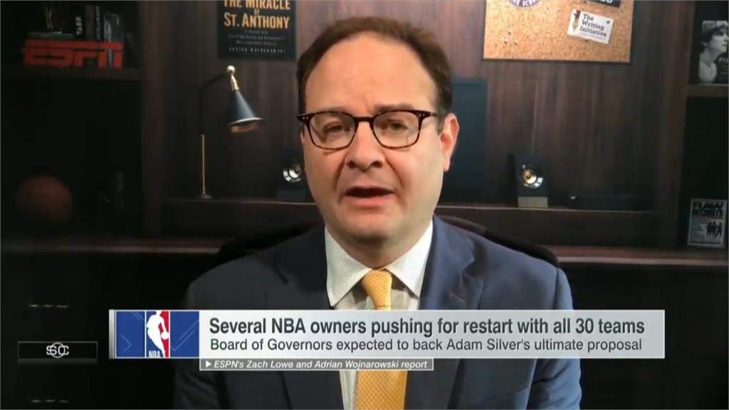 NBA將復賽!本周五董事會投票方案四選一