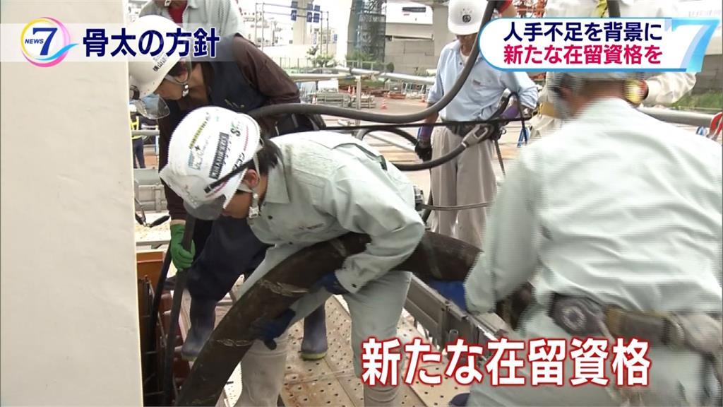 日本延長外籍勞工居留年限 解決勞力短缺