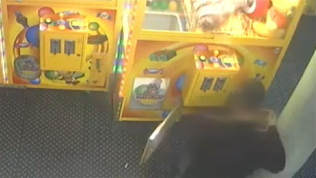 娃娃機台遭竊!賊熟門熟路竟是前台主