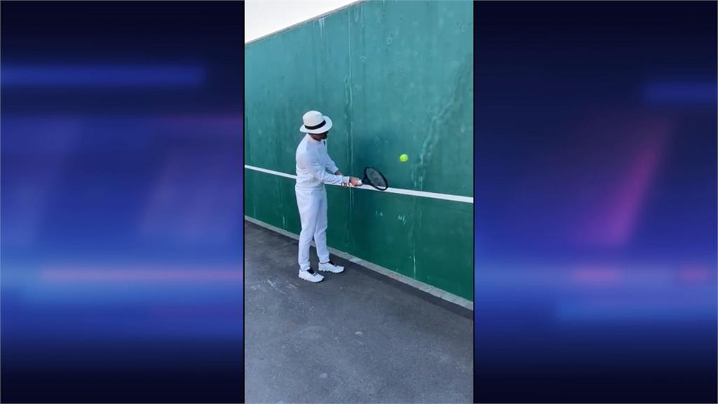 網球/線上傳授截擊技巧驚見他!費爸幽默回:你已經打敗我很多次了