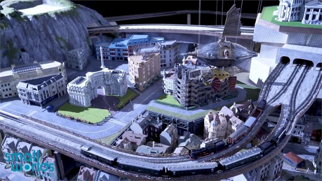 東京微型主題樂園開幕 動漫場景、迷你版火箭超吸睛