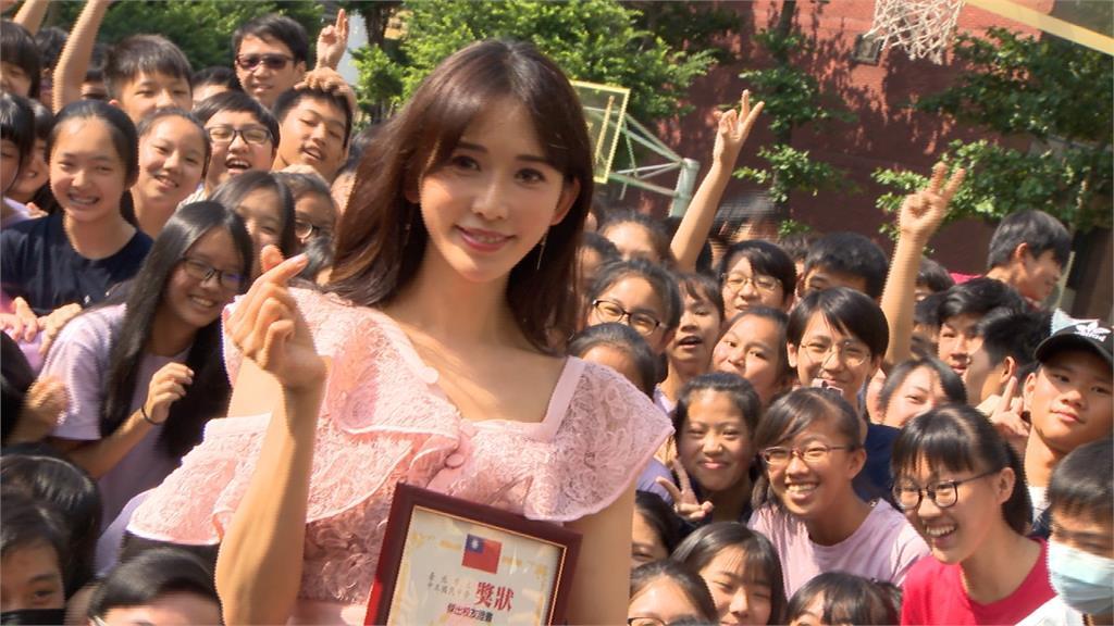 林志玲出席母校校慶 推廣疫苗防子宮頸癌