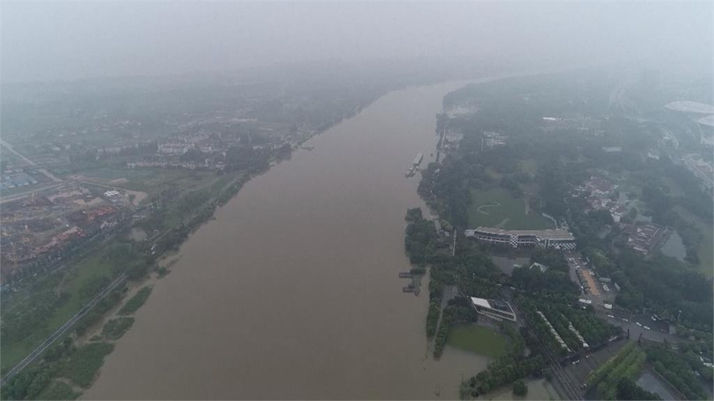 中國汛情緊繃!長江多日超警戒水位 安徽洪水警報