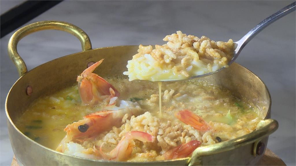 海鮮粥當主角 美食展飄台灣味