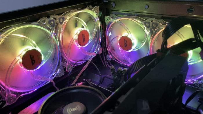 3C/千元可入手 一套五顆 ARGB 風扇darkFlash CF8 Pro