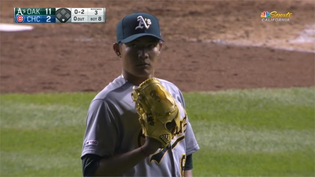 MLB/王維中遭運動家指定轉讓 代表台灣打12強賽機率高