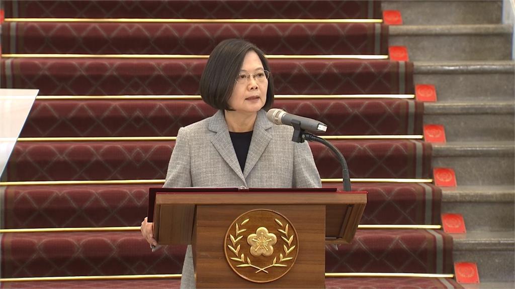 LIVE/防疫外交讓世界看見台灣 蔡總統率部院長親身說明