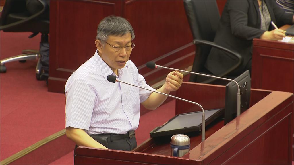 快新聞/六四31周年 柯文哲:中國還是要朝民主前進