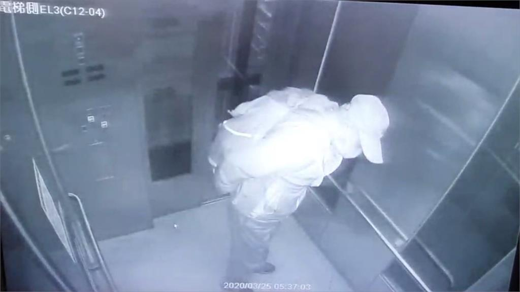 台鐵電梯如大怒神突下降卡半空中 受困男子平安獲救