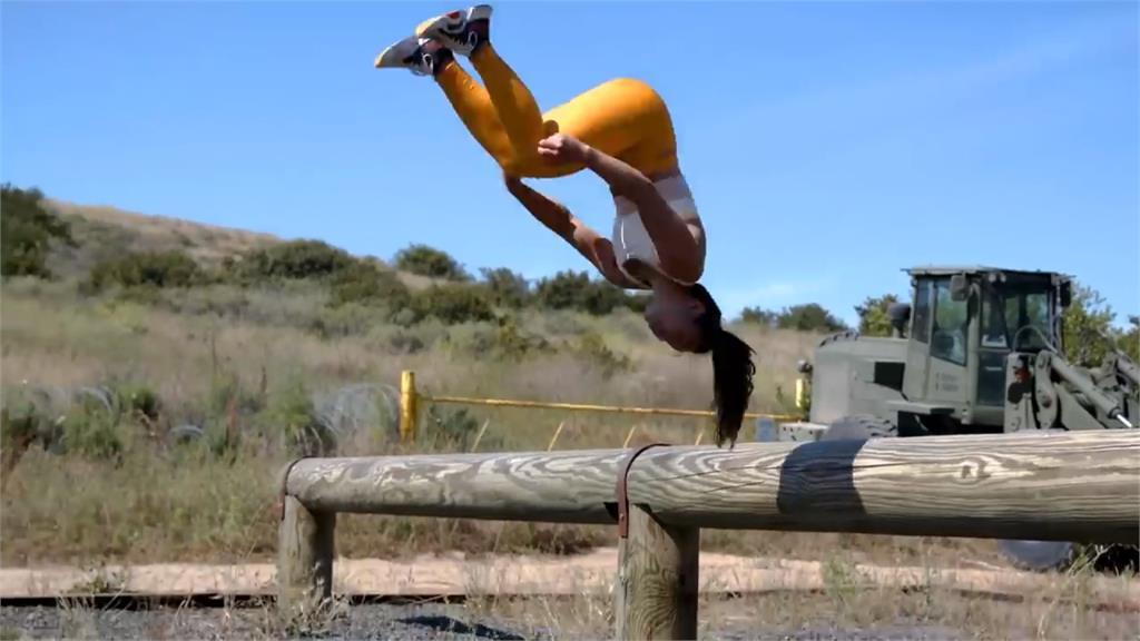 高難度挑戰!面對海陸障礙賽 美國體操名將頻卡關