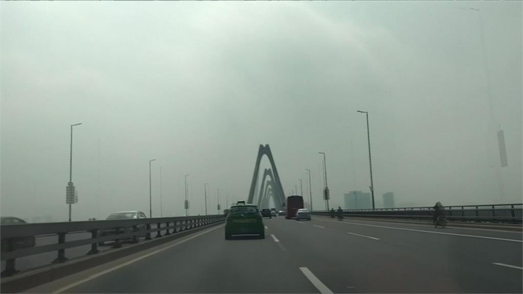 川金二會在即 越南河內空污嚴重