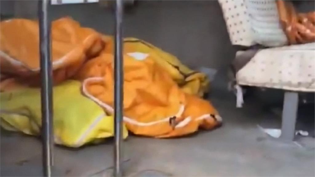 中國武漢肺炎疫情續升溫 醫院宛如停屍間