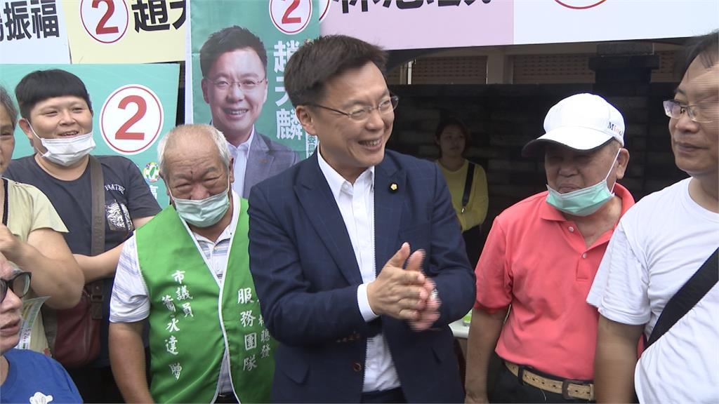 民黨高雄巿黨部主委改選揭曉  趙天麟勝高閔琳