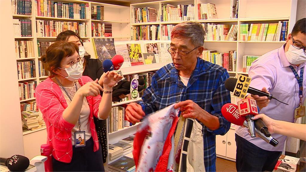 快新聞/林榮基欲在台開書店遭埋伏潑漆 兩名嫌犯在高雄找到了!
