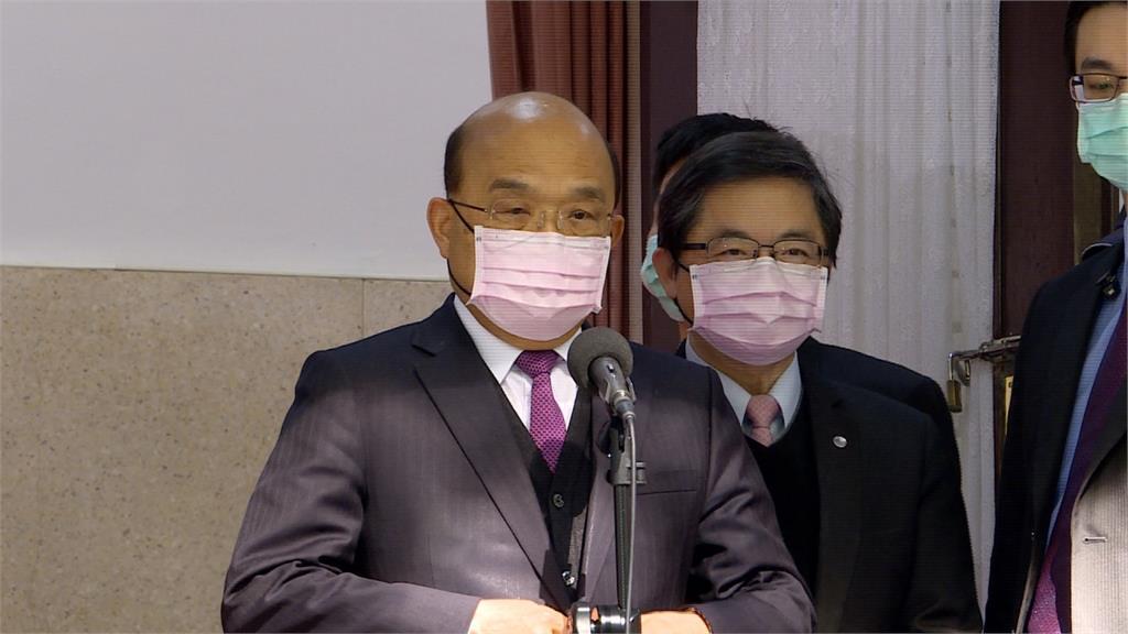 顏色不分性別!蘇貞昌、林佳龍全戴上粉紅色口罩