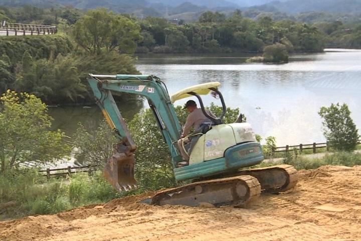 毀「北台日月潭」美譽 新竹峨眉湖違法開挖壞生態