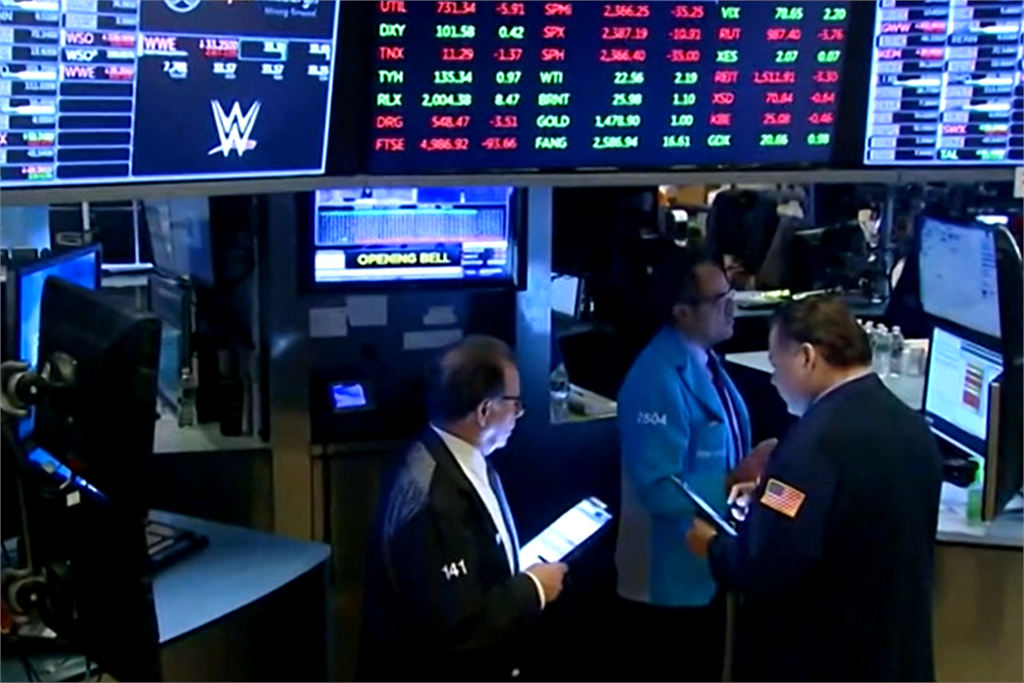 快新聞/市場持續擔憂第2波疫情 美股開盤道瓊下跌185點
