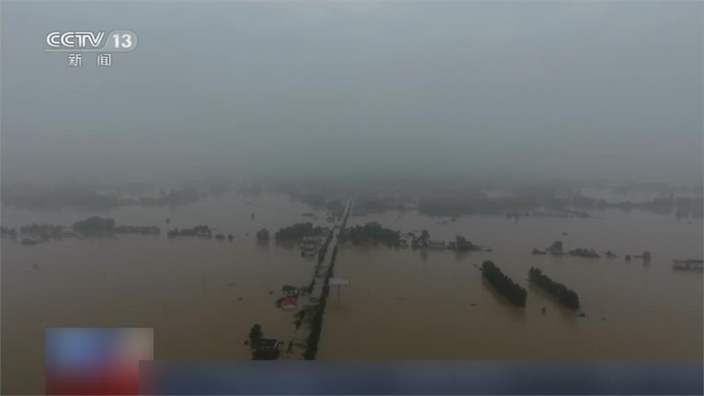 暴雨引發土石流!湖北民宅塌 史河倒灌淹沒8甲農地