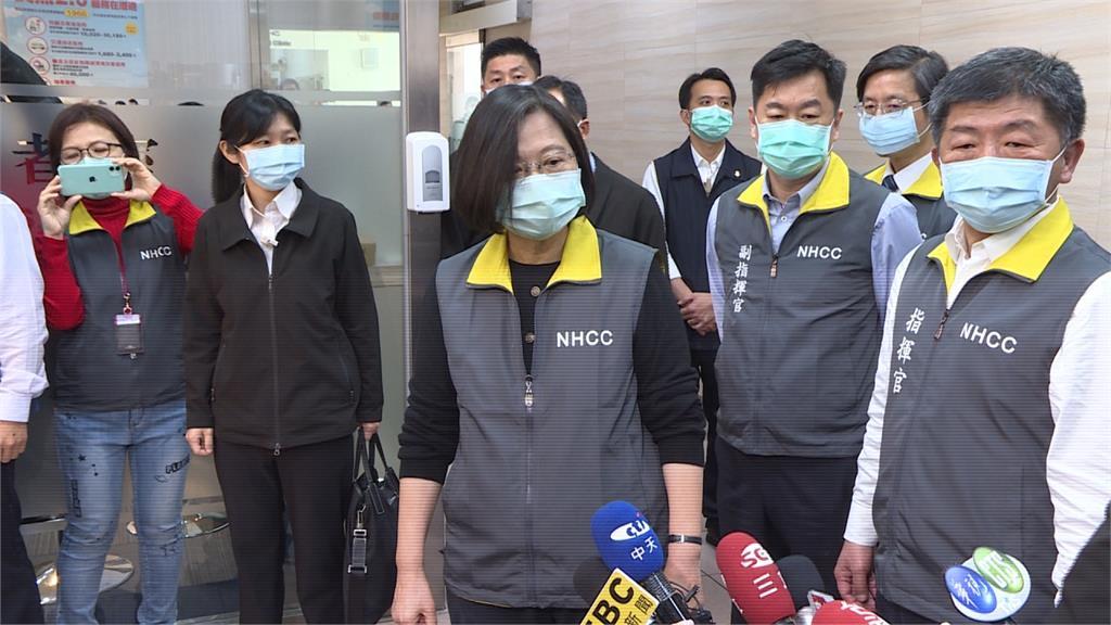 千萬口罩馳援國際  蔡總統:防疫需要合作