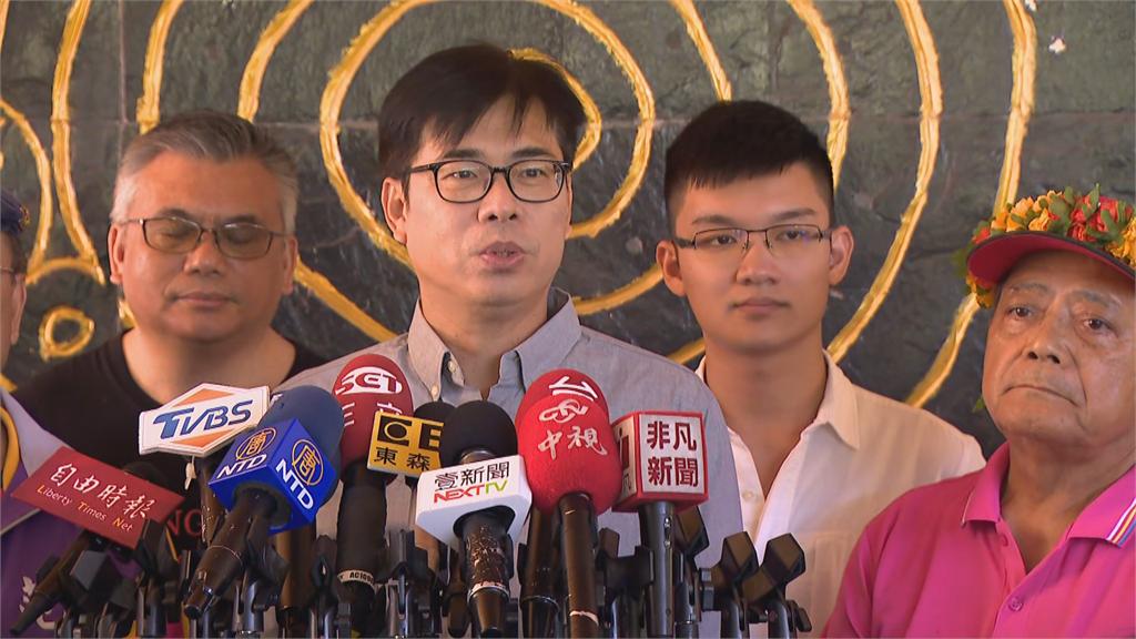 快新聞/李眉蓁反控邁邁「學術詐欺」 陳其邁喊話國民黨:多幫她一點