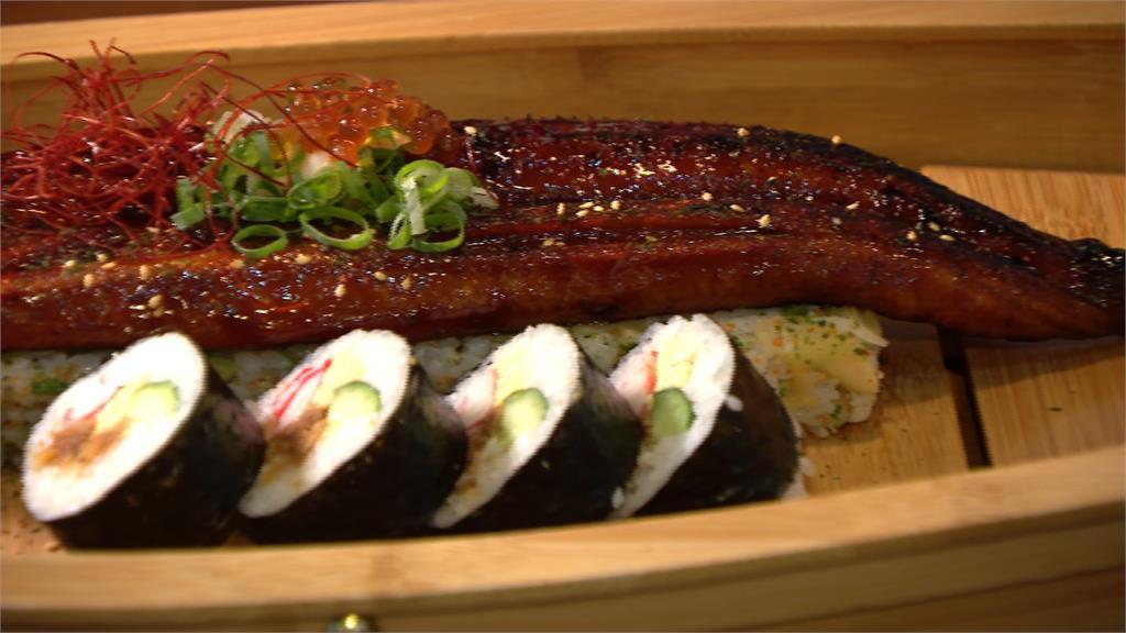日本料理玩創意!鰻魚飯改造成箱壽司 牡丹蝦豪氣鋪滿丼飯