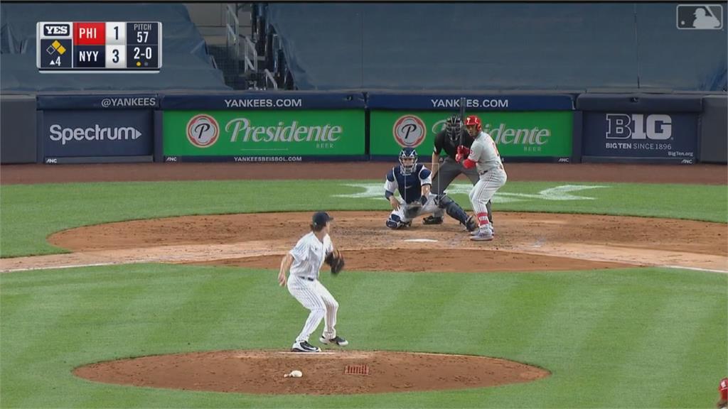 MLB/王牌柯爾跨季19連勝並列勝投王 洋基7連勝戰績第一
