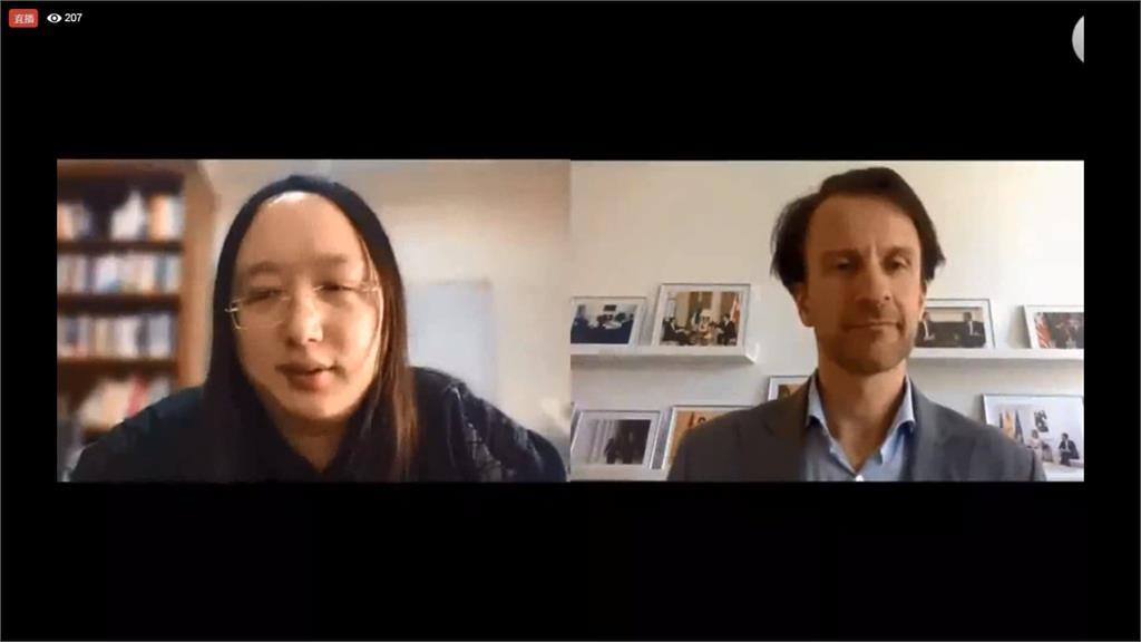 「台灣模式」正夯!唐鳳視訊向國際發聲 丹麥前總理也大推