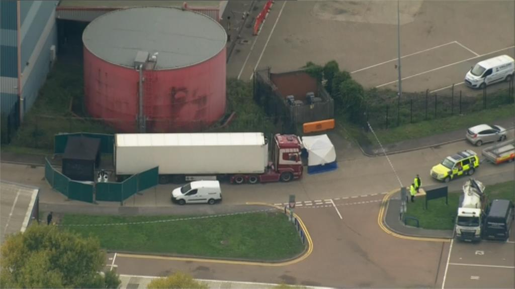 英貨櫃車驚見39具屍 死者疑偷渡遭凍斃