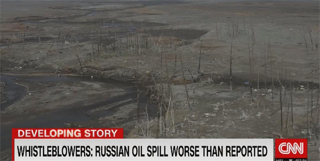 俄國北極圈漏油浩劫 河水髒到能點燃