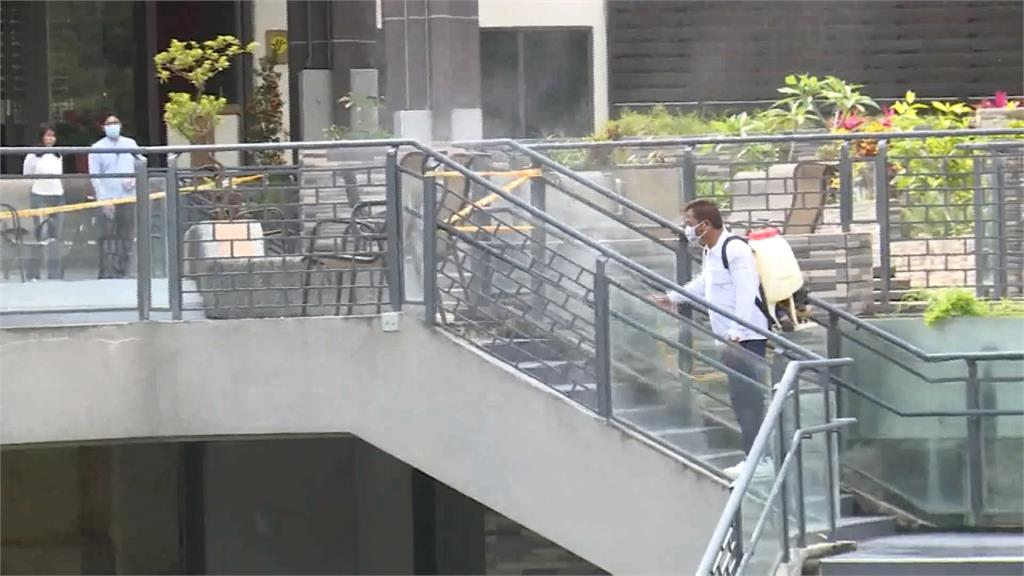 台東知本溫泉街全面消毒 盼化危機為轉機